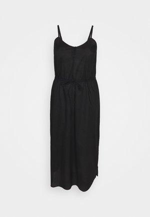 CARFLOWER LIFE DRESS SOLID - Korte jurk - black