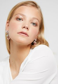 ONLY - ONLBASTA EARRING 2 PACK - Earrings - silver/rose/pool blue - 1