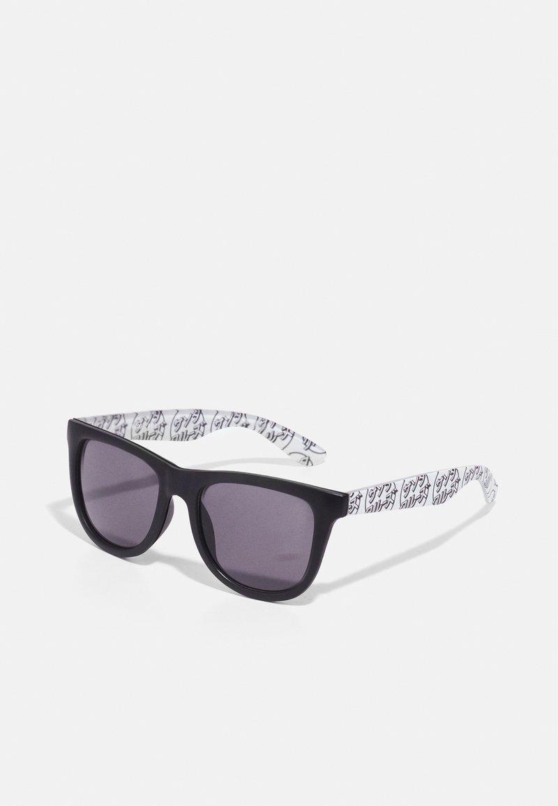 Santa Cruz - OPUS JAPANESE DOT SUNGLASSES UNISEX - Sunglasses - white/ black