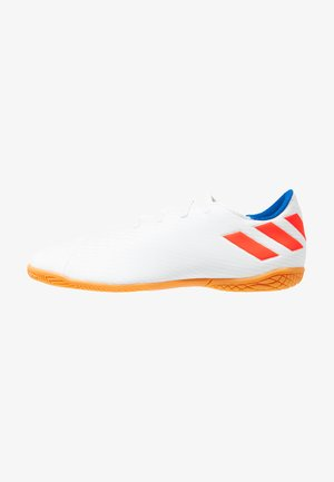 NEMEZIZ MESSI 19.4 IN - Indoor football boots - footwear white/solid red/football blue