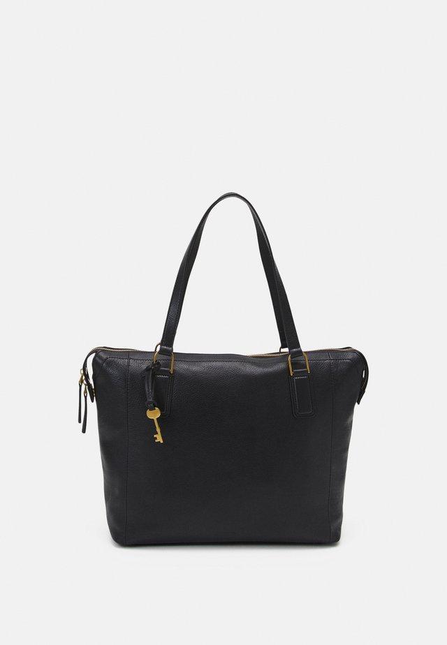 JACQUELINE - Shopping bag - black