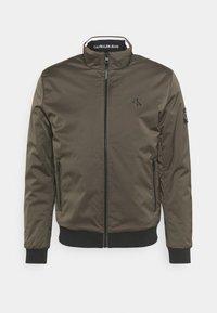 Calvin Klein Jeans - HARRINGTON PADDED JACKET - Light jacket - black olive - 0