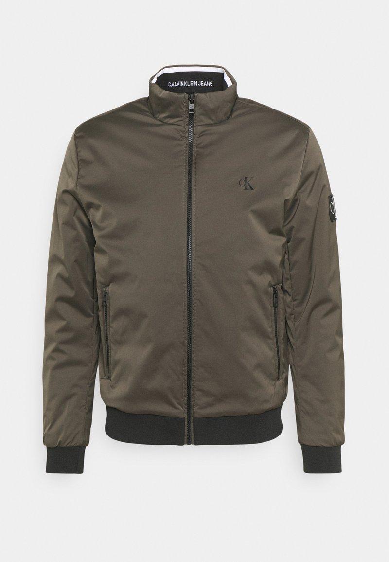 Calvin Klein Jeans - HARRINGTON PADDED JACKET - Light jacket - black olive