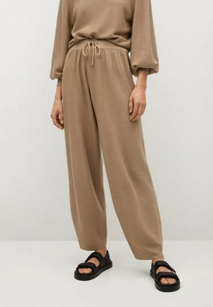 MILAN - Tracksuit bottoms - sable