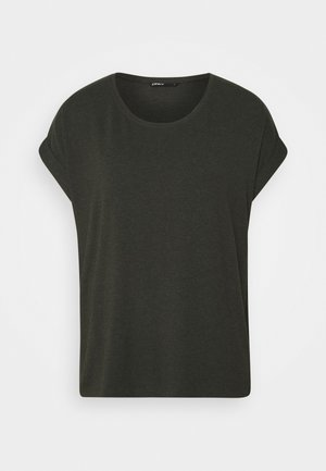 ONLMOSTER O-NECK TOP - T-shirts - rosin