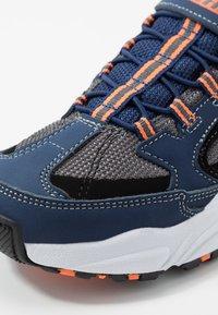 Skechers - STAMINA - Sneakers - navy/black/charcoal/orange - 2