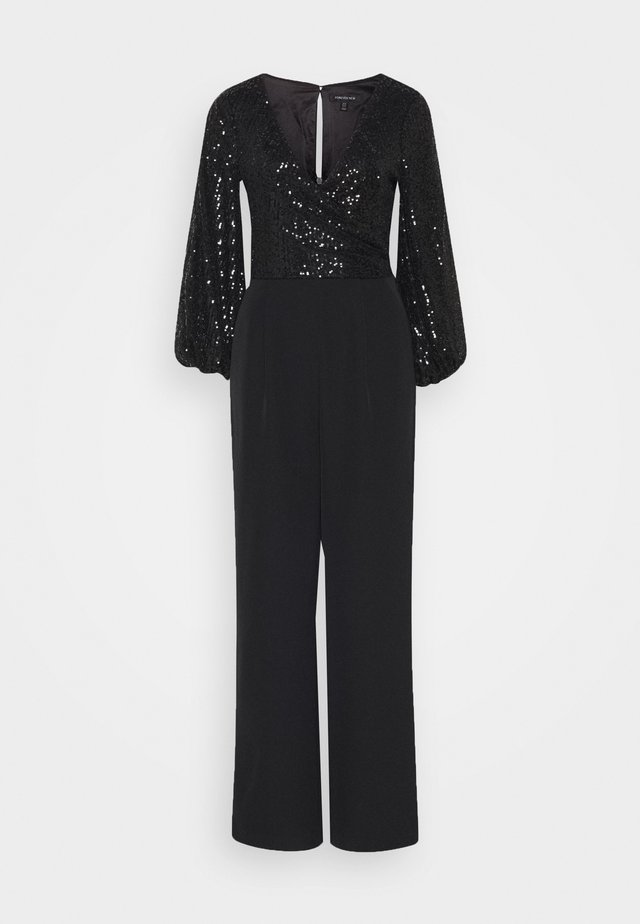 CLANCY JUMPSUIT - Mono - black