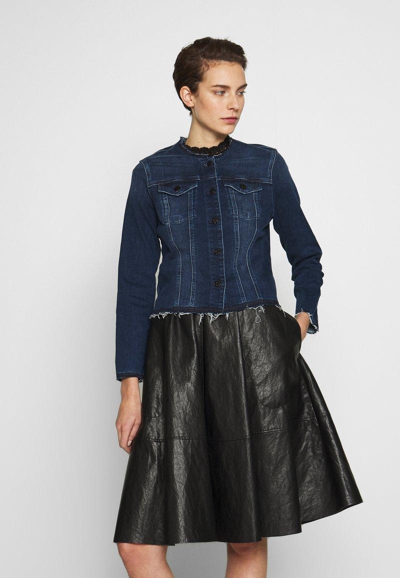 7 for all mankind - JACKET - Denim jacket - dark blue