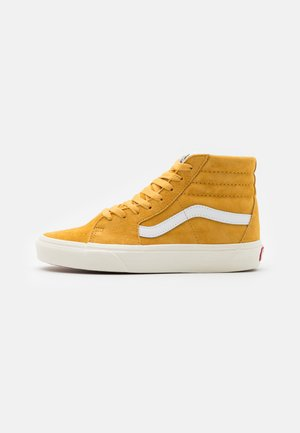 SK8 UNISEX  - High-top trainers - honey gold/true white