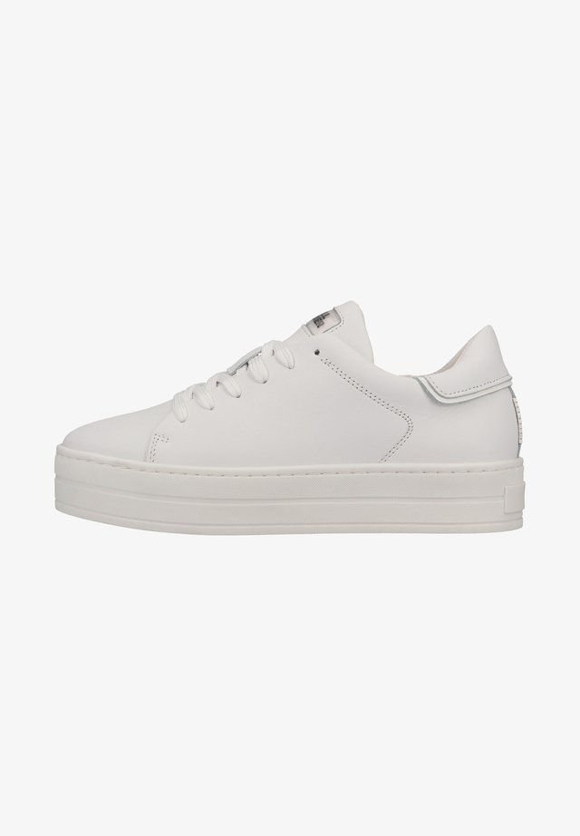 Sneakers laag - white whit
