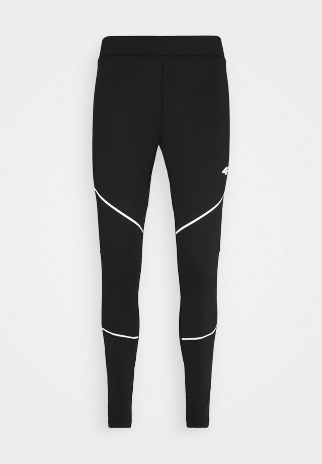 Men's running tights - Leggings - black
