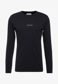 Les Deux - LENS - Long sleeved top - black/white - 4