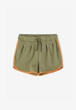 METALLIC-FÄDEN - Swimming shorts - deep lichen green