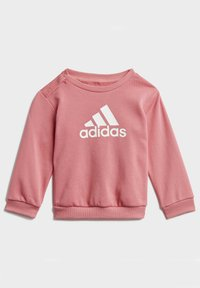 adidas Performance - BADGE OF SPORT FRENCH TERRY JOGGER - Trainingspak - pink