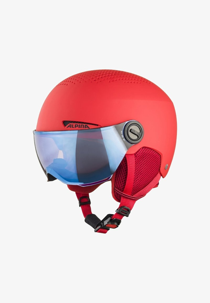 Alpina - ZUPO VISOR - Helmet - red matt