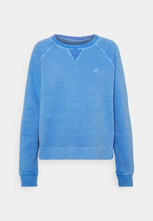 SUNFADED C NECK - Sweatshirt - pacific blue