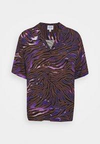 Vintage Supply - LIGHTNING ZEBRA - Shirt - purple - 4