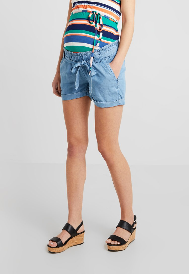 Seraphine - ETHAN - Shorts - light blue denim