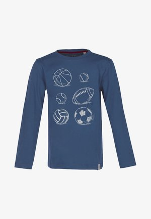 BALLS - Long sleeved top - blue