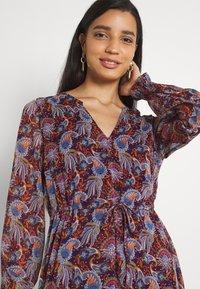 Vila - VIFALIA ANCLE DRESS - Maxi dress - winetasting blue - 3