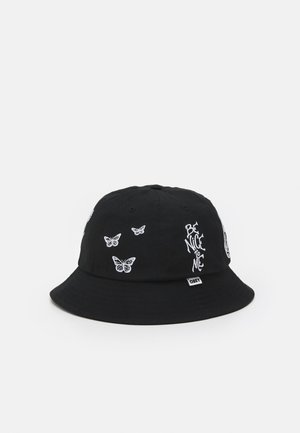 PANEL BUCKET HAT UNISEX - Hat - black