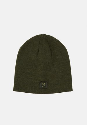 LEAF SINGLE BEANIE UNISEX - Beanie - forrest night