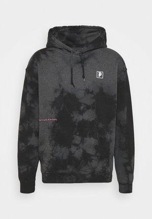WASHED HOOD - Sweatshirt - black