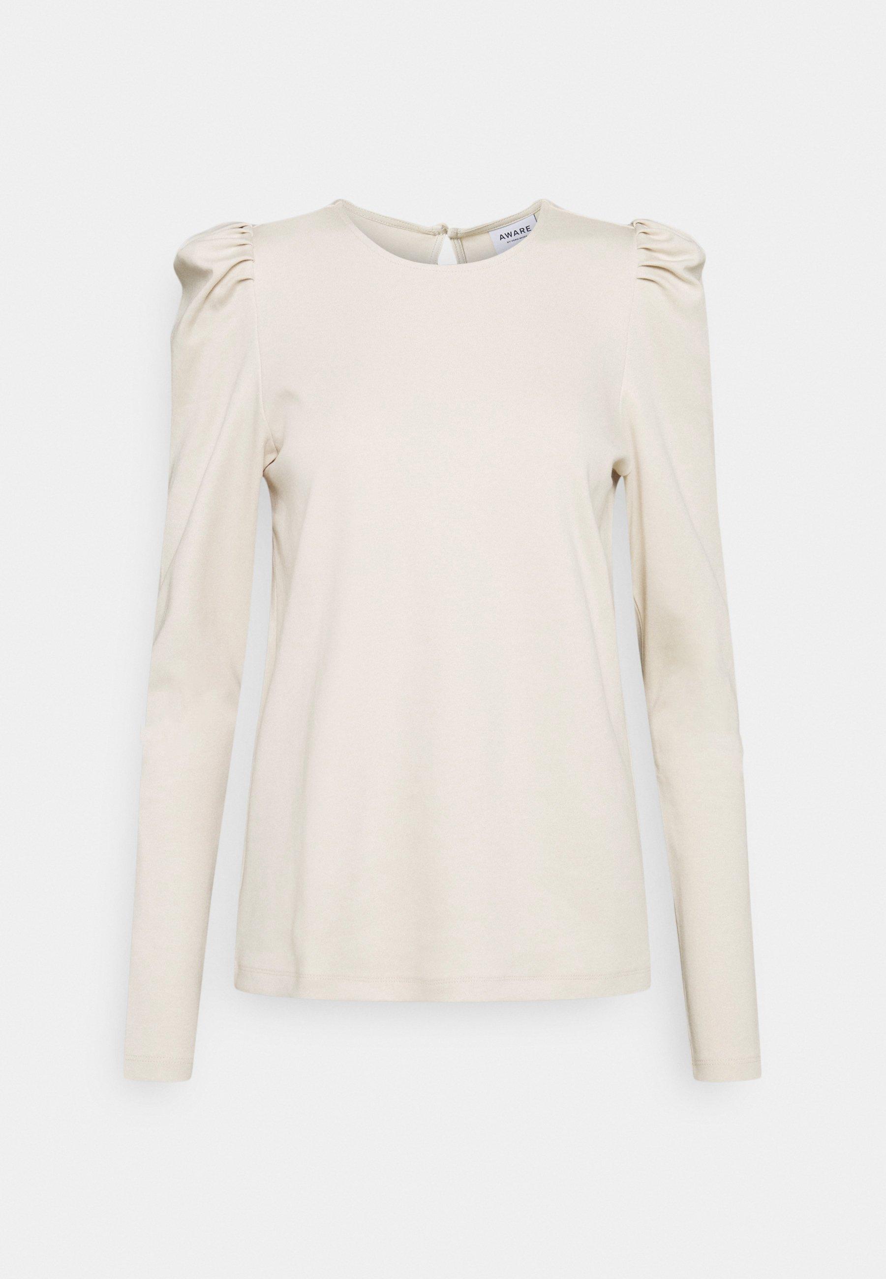 Women VMNOREEN O NECK BLOUSE - Long sleeved top