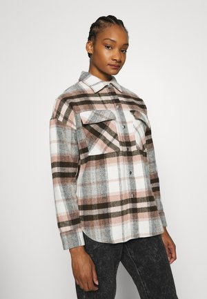 CORINNE CHECK - Blouse - dusty pink