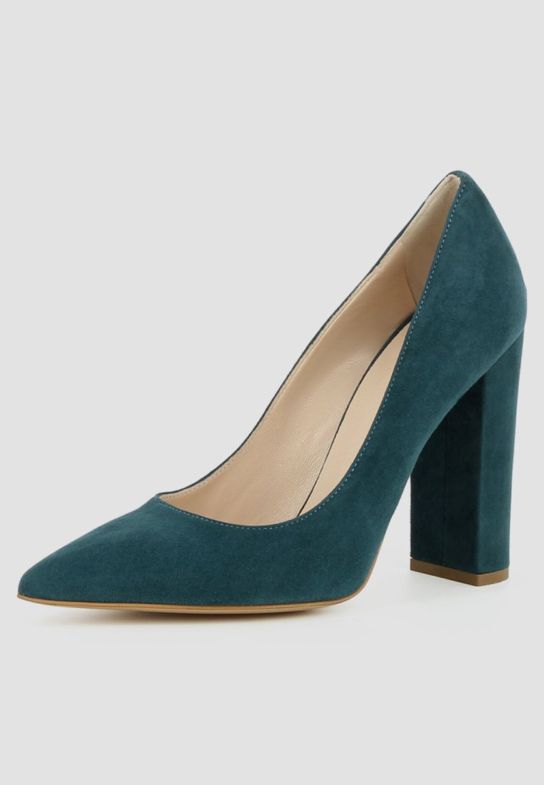 Evita ALINA - High Heel Pumps - petrol  Pumps für Damen 1XMra