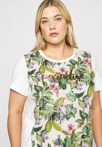 Persona by Marina Rinaldi - VEDETTA - Print T-shirt - bianco - 4