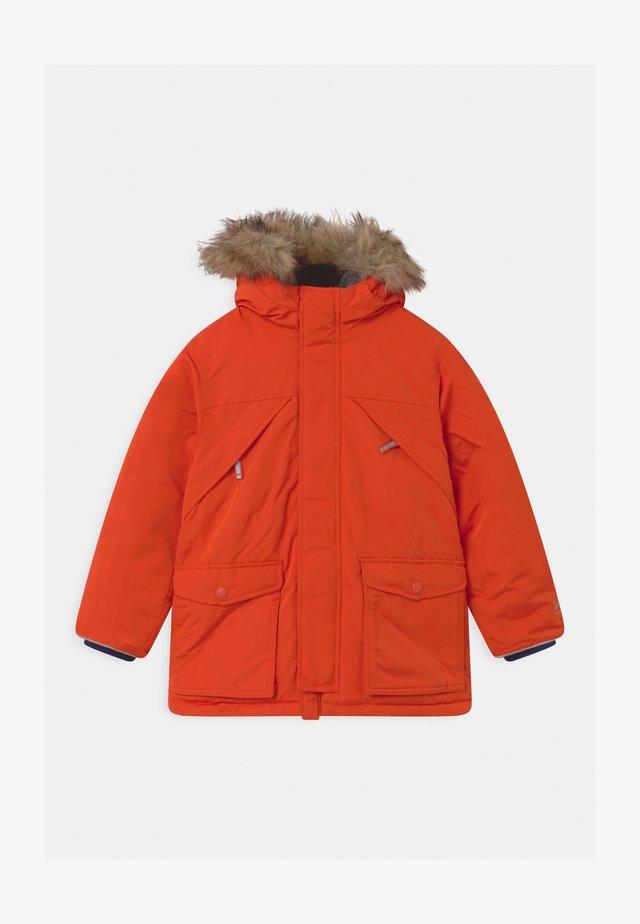 BOY  - Winter coat - grenadine orange