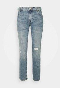 Emporio Armani - POCKETS PANT - Straight leg jeans - denim blu - 0