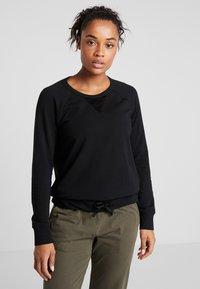 Deha - FELPA GIROCOLLO - Sweatshirts - black - 0