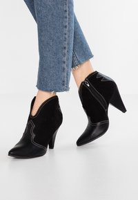 New Look - ELSA - High heeled ankle boots - black - 0