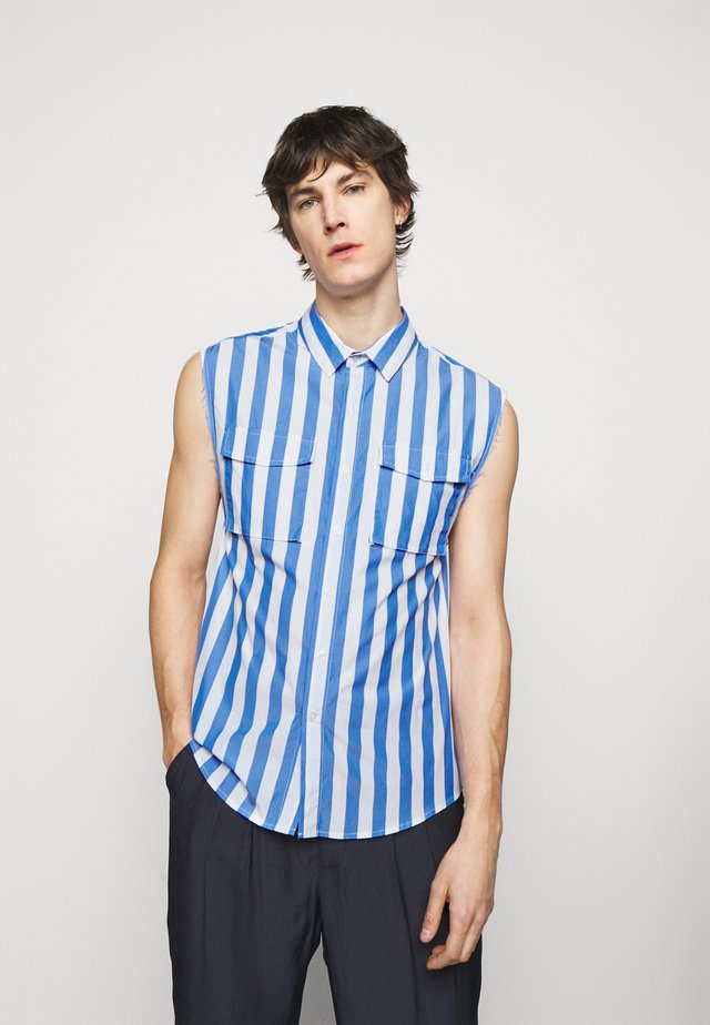 STRIPE RAW FINISH - Overhemd - blue