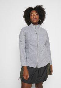 CAPSULE by Simply Be - Fleece jacket - grey marl - 0