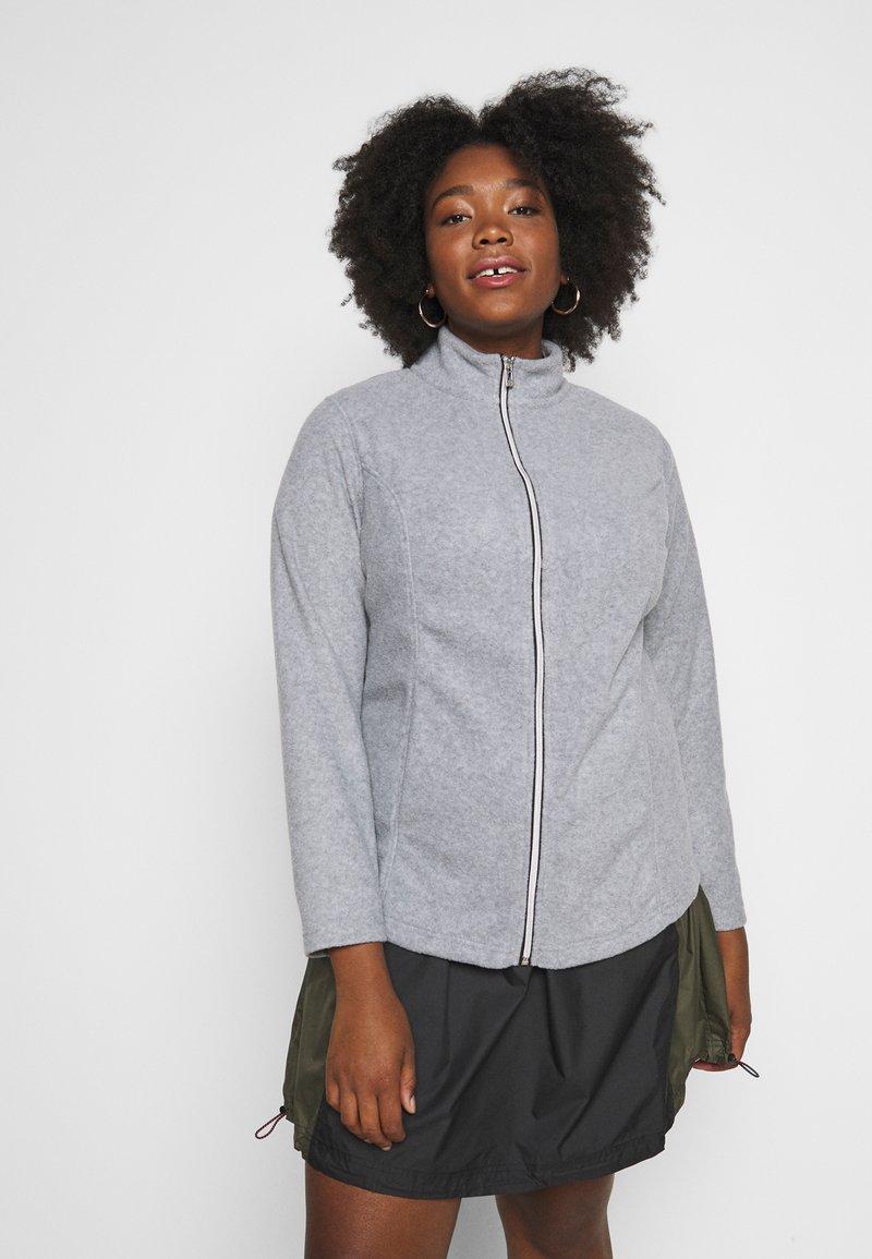 CAPSULE by Simply Be - Fleece jacket - grey marl