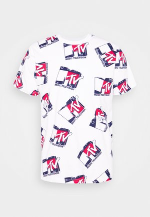 ABO MTV TEE UNISEX - T-Shirt print - ivory