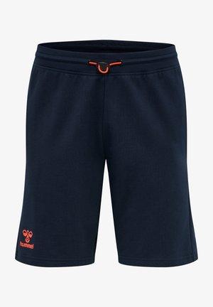 ACTION - Sports shorts - dark sapphire/fiesta