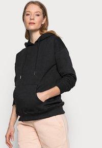 New Look Maternity - POCKET HOODIE - Hoodie - black - 3