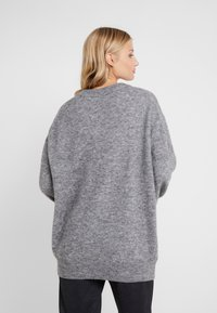 CLOSED - Pullover - grey heather melange - 2