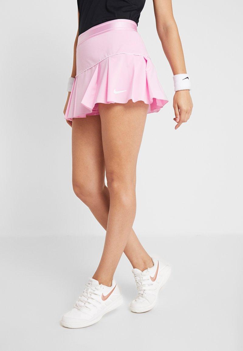 Nike Performance - VICTORY SKIRT - Sportovní sukně - pink rise/white