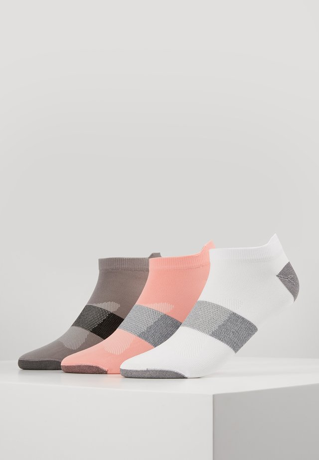 LYTE 3 PACK UNISEX - Chaussettes de sport - guava/real white/stone grey