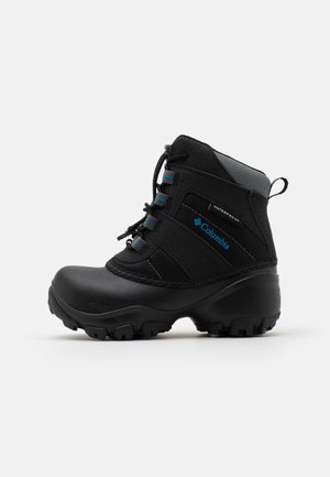 CHILDRENS ROPE TOW III WATERPROOF UNISEX - Zimní obuv - black/dark compass