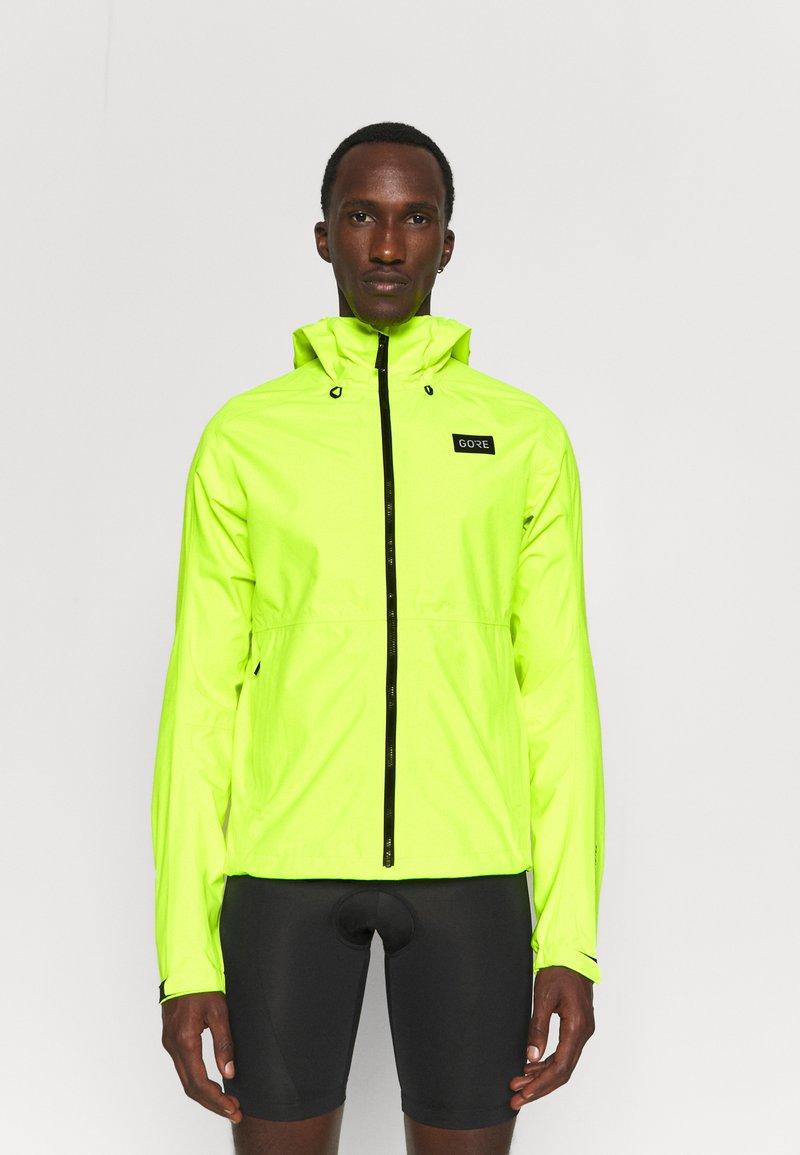 Gore Wear - ENDURE JACKET MENS - Hardshelljacke - neon yellow