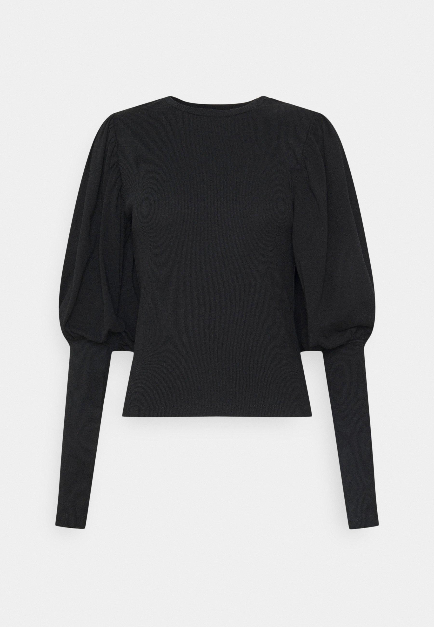 Women ONLPIL VOLOUME SLEEVE  - Long sleeved top