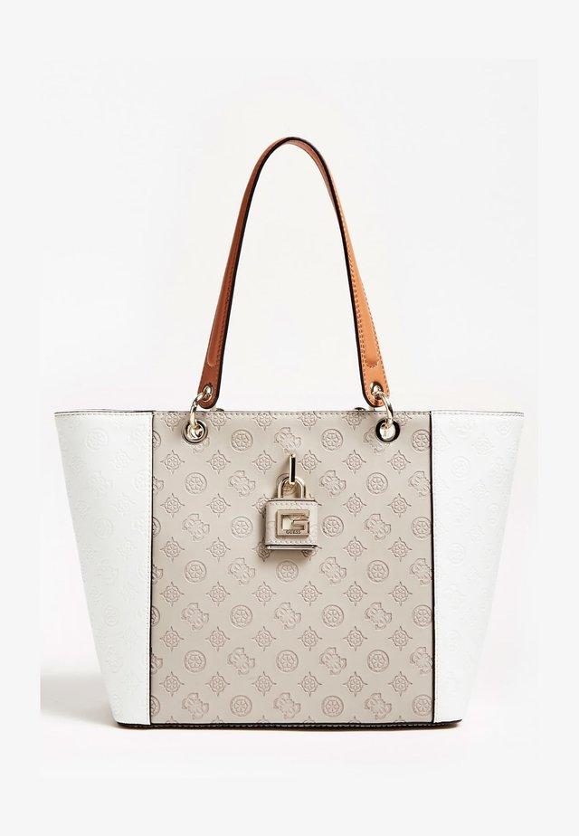 KAMRYN TOTE - Handtasche - mehrfarbig beige