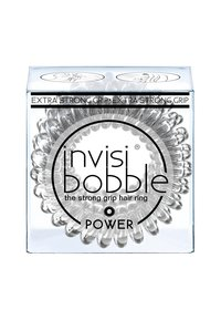 Invisibobble - POWER HAARGUMMI 2 PACK - Accessoires cheveux - crystal clear - 1