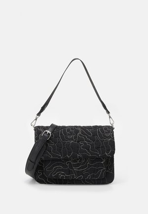 BASEL POSY - Käsilaukku - black